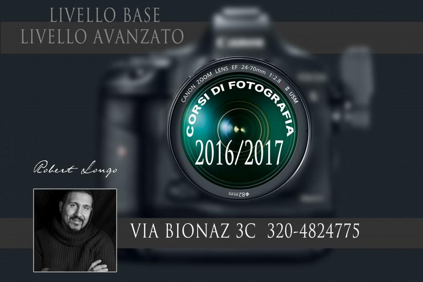 CORSI DI FOTOGRAFIA 2016 2017