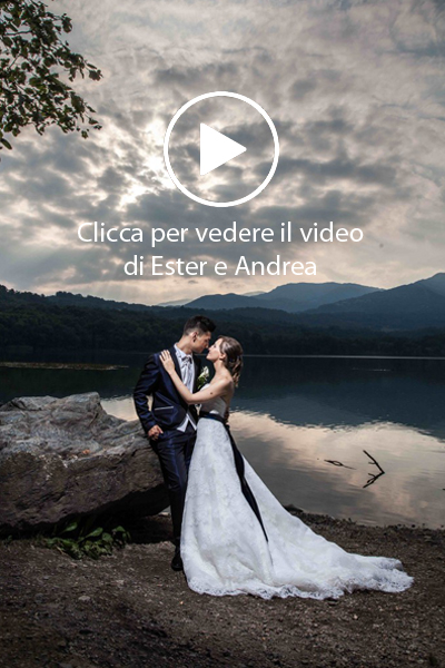 Ester e Andrea video matrimonio