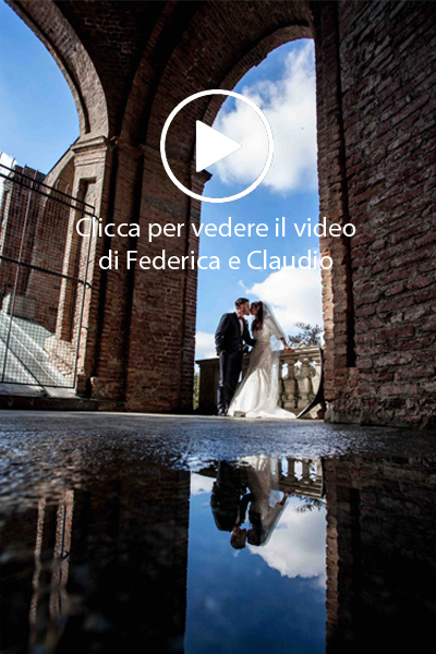 Federica e Claudio video matrimonio