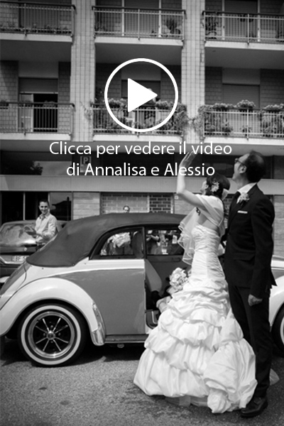Annalisa e Alessio video matrimonio