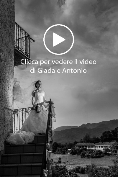 Giada e Antonio video matrimonio